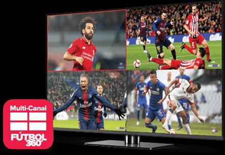 Multi Channel - Fútbol 360 - Sunrise, FL - Acme Satellites - Distribuidor autorizado de DISH