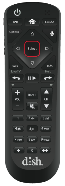 Control remoto de voz - Sunrise, FL - Acme Satellites - Distribuidor autorizado de DISH